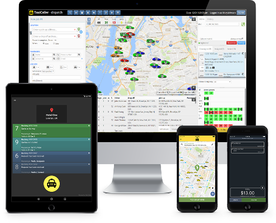 TaxiCaller - All in one Dispatch Solution