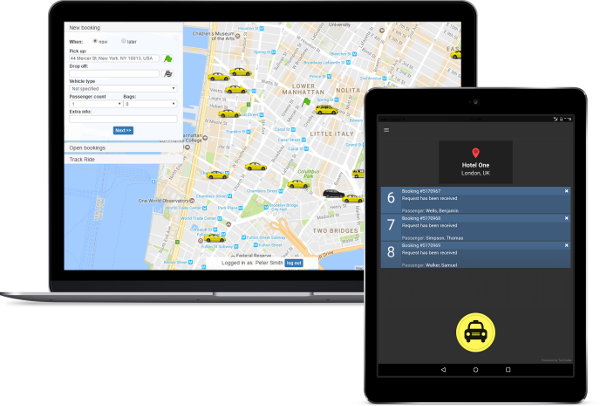 Explore Online Booking options by TaxiCaller