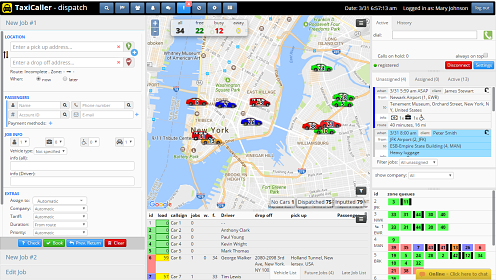 Taxi Dispatch Software Cloud Based System Taxicaller