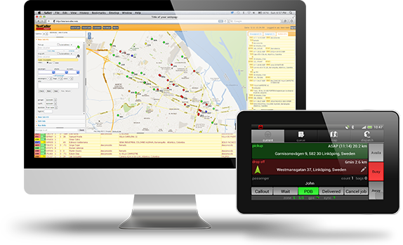 Taxi Dispatch Software | TaxiCaller | Dispatch System in the Cloud